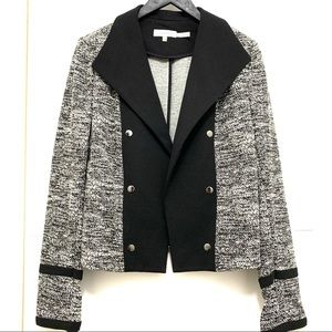 Calvin Klein Black and White Blazer